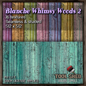Tool Shed - Blanche Whimsy Woods 2 Ad