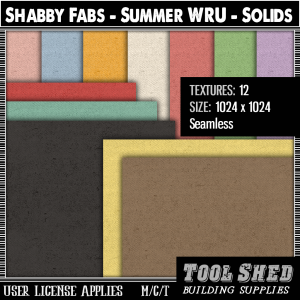 Tool Shed - Shabby Fabs - Summer WRU - Solids Ad