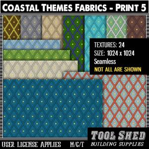 Tool Shed - Coastal Themes - Print 5 Ad